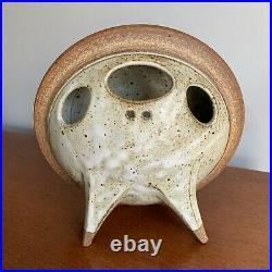 Ken Pick Studio Pottery Vase Ikebana Abstract Modern Art Sculpture