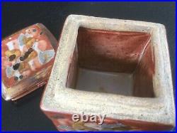Keramikdose, Studiokeramik Vincent Potier, France, Contemporary Art pottery