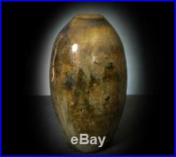 LOVELY, RARE EARLY St. IVES MINIATURE VASE for LEACH POTTERY