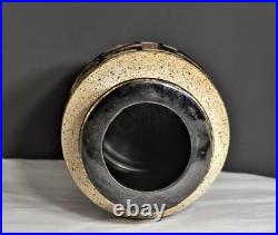 Lapid Israel Mid Century Studio Handcrafted Abstract Pottery Vase #182 Signed
