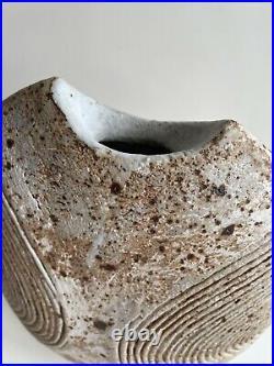 Large Alan Wallwork Studio Pottery Vase. Stunning