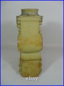 Large Bernard Rooke Bristish Studio Art Pottery Vase Pot RARE