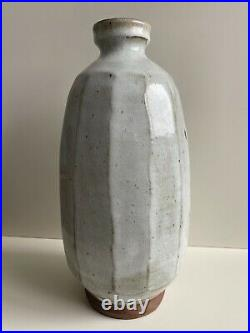 Large Jim Malone Ainstable Cut Sided Vase