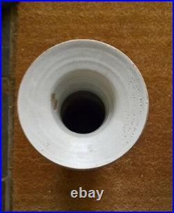 Large Martin Homer British studio pottery stoneware floor vase vessel 1980s