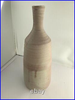Large Mary Rich Studio Pottery Bottle Vase