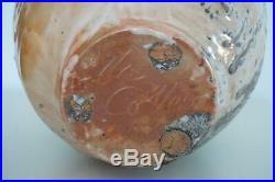 Large Nic Collins Studio Pottery Jar Vase Shino & Natural Ash Glaze 20th C