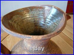 Large Signed Waistel Cooper Studio Art Pottery Jug / Vase