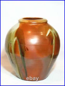 Large Woodfired Vase, Robert Barron. Australian Studio Pottery