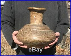Large and beautiful Karen Karnes sculptural vase
