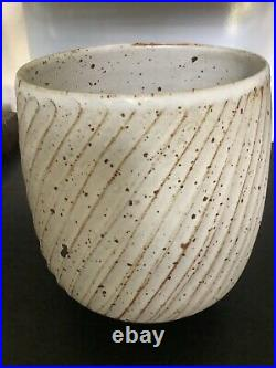 Large vintage Joanna Constantinidis studio pottery vase