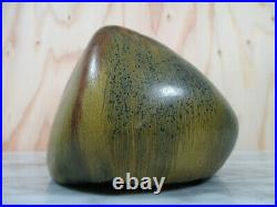 MCM Studio Pottery Organic Modern Vase Signed H