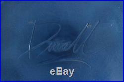MICHAEL DUVALL Postmodern Vase Signed Art Vase