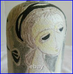 MID Century Modern Marcello Fantoni For Raymor Italy Studio Pottery Vase Signed