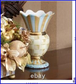 MacKenzie-Childs Parchment Check Great Vase