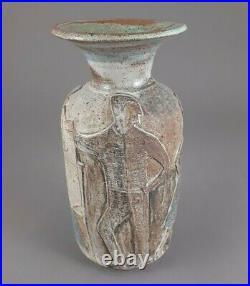 Marguerite Wildenhain Pond Farm Vase Mid Century Studio Pottery Vase Figurals