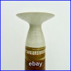 Marianne de Trey. Vase. Hand-thrown porcelain. Personal piece. 23cm. Signed