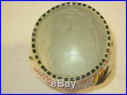 Michael Corney Studio Pottery Large Tumbler Or Decorated Vase, Signed