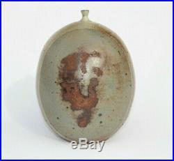 Mid Century Modern Modernist Art Studio Pottery Vase Weed Pot Vessel Signed