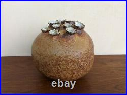 Mid Century Modern Tom McMillin Pottery Vase Ceramic Vessel Sculpture California