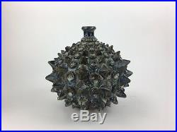 Mid Century Modernist Jack Mason 1967 Southern Studio Art Pottery Vase