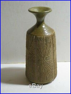 Mid-Century ROBERT MAXWELL-DAVID CRESSEY Earthgender Pottery Vase, Signed