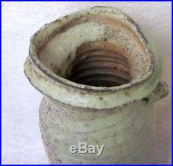 Mike Weber Anagama Woodfired Japanese Stoneware Vase