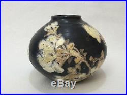 Monica Dunham Dunham Art Studios Art Pottery Vase, Signed, 5 1/3 Tall x 7 Wide