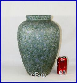 Monmouth Pottery Mid century Modern Huge Western Stoneware Vase 16