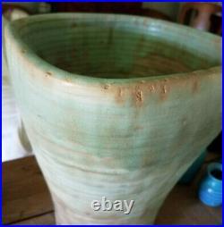 Monumental Older McCarty / McCartys Pottery Vase / Mississippi