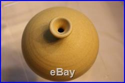 OTTO HEINO Rare ancient yellow vase, signed