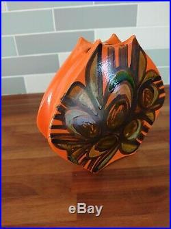 Poole Pottery Rare Delphis Packet Of Crisps Vase