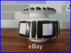 Poole Pottery Stunning And Very Rare Studio Vase Tv Screen Mark
