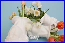 Porcelain David Vase by House of DeBoer in White Handmade Homeware Home Goods