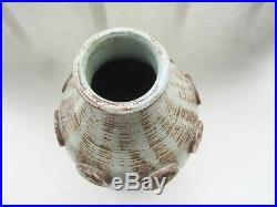 Pottery Ceramic Tribal MCM Brutalist Modernist Zeljko Kujundzic Vase WWII