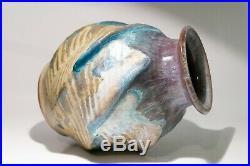 Quebec Pottery Pierre Legault Studio Canada Vase