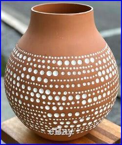 RARE 13 IKEA Hella Jongerius 2005 Africa Jonsberg Art Terra Cotta Pottery Vase