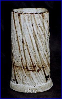 Randy Johnston Art Pottery Anagama Vase Hamada Warren Mackenzie Tatsuzo Shimaoka