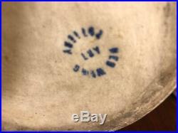 Rare 10 1/2 Red Wing Nokomis Pottery Vase Arts & Crafts Green Glaze Ceramics