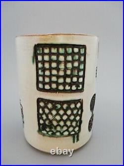 Rare Atlantis Guy Sydenham Signed Studio MidCentury Poole Pottery Atlantis Vase