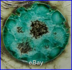 Rare Carn Pottery Green Borax Spot Box Vase John Beusman Cornish Studio art