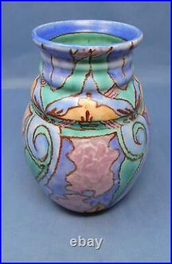 Rare Clarice Cliff'Bizarre' Persian Pattern Vase