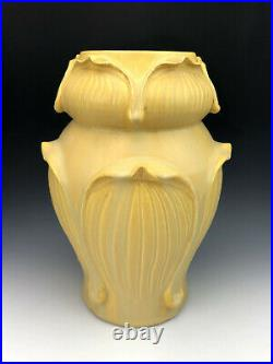 Rare Door Pottery Kendrick Vase Grueby Style by Scott Draves 2007 Discontinued