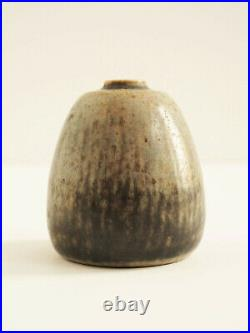 Rare Eigil Hinrichsen Miniature Studio Pottery Vase Modernist 1960s Denmark