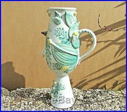 Rare Large Head Vase By Bjorn Wiinblad
