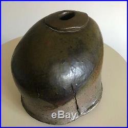 Rare Mid Century Studio Art Pottery Sculpture Vase Vessel by Howard Kottler