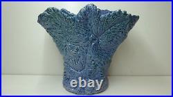 Rare Murrumbeena Leaf Pattern Amb Merric Boyd Australian Pottery Studio Vase