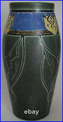 Retired Dutch Tulip Vase by Ephraim Faience Pottery