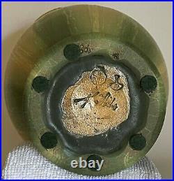 Retired Hidden World Vase by Ephraim Faience Pottery