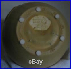 Retired Koi Vase by Ephraim Faience Pottery