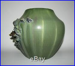 Retired Mountain Grizzly Vase by Ephraim Faience Pottery